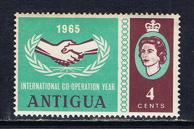 Antigua #155(1) 1965 4 cent International Cooperation Year MH