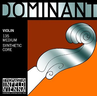 Thomastik Dominant 135B Violin String Set 4/4 Size