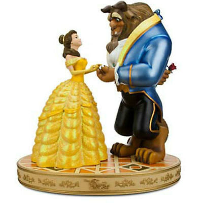 Disney Parks Beauty And The Beast Medium Big Figure Statue New In Box