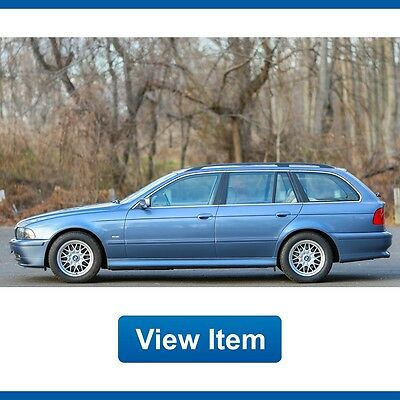 2002 BMW 5-Series Base Wagon 4-Door 2002 BMW 525i Wagon Super Low 73K Miles Serviced Cold Weather Package CARFAX!