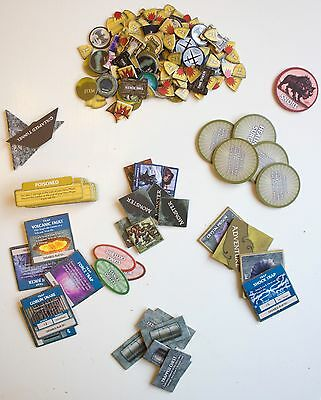 Dungeons and Dragons The Legend of Drizzt Board Game Markers Tokens 168pcs