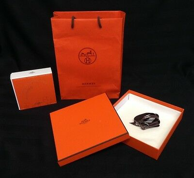 Set Of 3 Hermes Empty Boxes & Paper Bag
