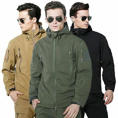 Waterproof Lurker Shark Skin Soft Shell Men's Outdoors Military Tactical Jacket