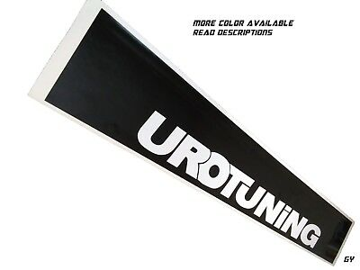 Urotuning Euro Windshield Sun Visor Strip Decals Cars Stickers Banners GTI Jetta