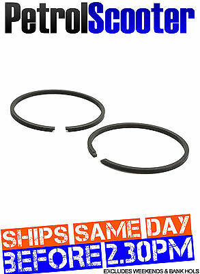 Mini Moto 49cc PISTON RINGS 44mm Mini Quad Dirt Bike Minimoto Race Pocket Cag