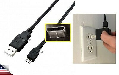 LONG Electric chaRger Cable Cord + CAR+PoWeR Wall Plug for SAMSUNG GALAXY Tablet