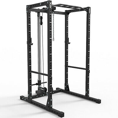 MEGATEC  Power Rack System MT-PRS Squat Cage Gym Barbell