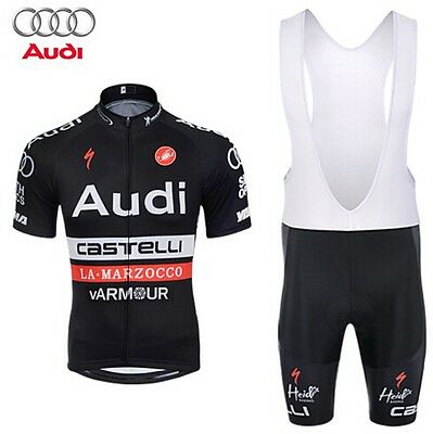 Completo ciclismo/Cycling Jersey and pants  Team Castelli Audi