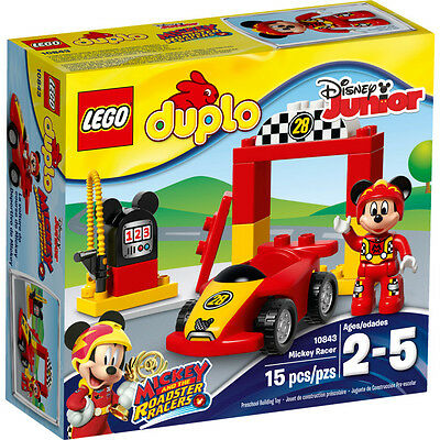 Lego Duplo Mickey Racer BRAND NEW & SEALED Kid's Building Toys 10843