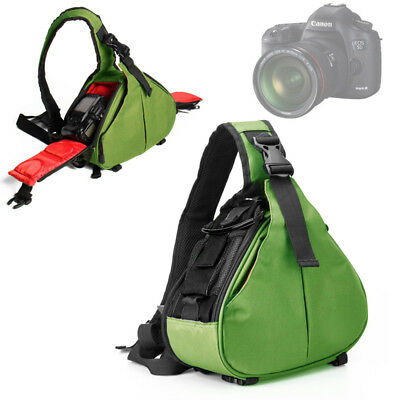 Triangle Photo DSLR SLR Camera Case Shoulder Backpack Bag for Nikon Canon Sony