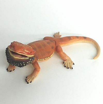 Choco Q Mini Figure Lizard Bearded Dragon Red Kaiyodo Japan choco egg