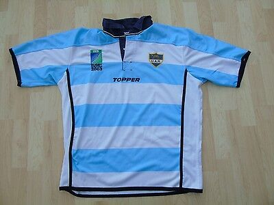 Argentina 2003 World Cup Match Worn Rugby Shirt /jersey/maillot- Rare- Look!!