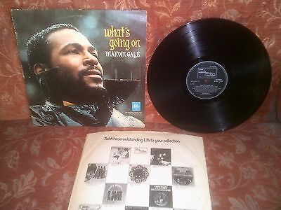Marvin Gaye What's Going On Rare 1971 1st UK A1/B1 Tamla Motown STML 11190