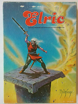 Vintage Avalon Hill Elric Fantasy Board Game Young Kingdoms Adventure Bookcase