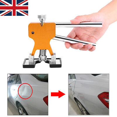 PDR Dent Puller Lifter Repair auto body small damage Tool with 10 Red Tabs UK