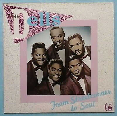 Dells ~ From Streetcorner To Soul ~ 1985 Uk 16-Track Lp Record ~ Charly Crb 1055