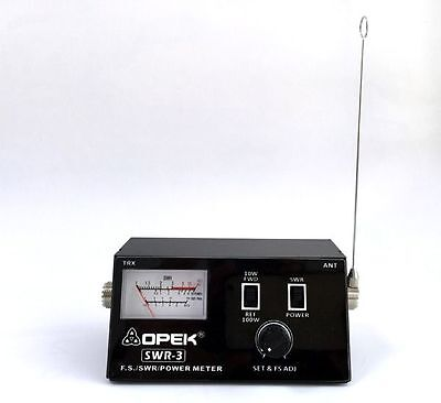 OPEK SWR-3 SWR/POWER/ ANTENNA FIELD STRENGTH METER   1.7 - 150MHz