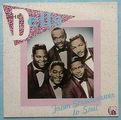 Dells ~ From Streetcorner To Soul ~ 1985 Uk 16-Track Lp ~ Charly R&b Crb 1055