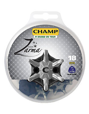 NEW CHAMP Zarma Tri-Lok 18-Pack Fast Twist Cleat Spike Kit