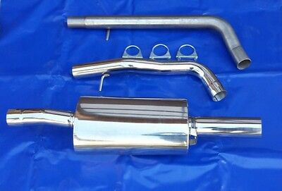 Stainless Steel Exhaust Full System Audi A3 Sport exhaust Group A Size VW Golf 4