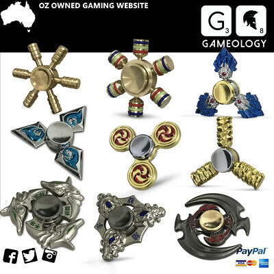 3D Tri-Fidget Hand Spinner Finger Spin SPECIAL EDC Stress Relief Desk Toy Gift