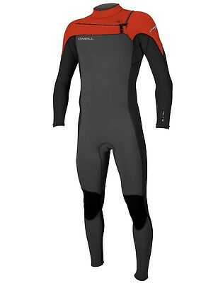 O'neill Mens Hammer 3/2 Chest Zip Full Wetsuit 2017