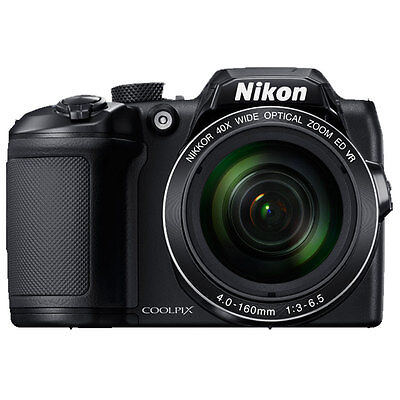 Nikon COOLPIX B500 Digital Camera (Black) 26506
