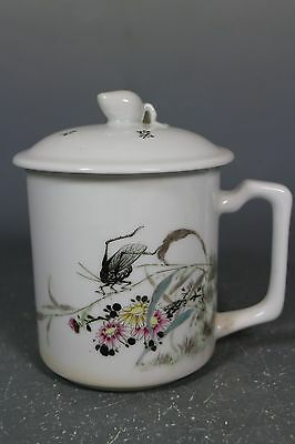 beautiful chinese famille rose porcelain teacup