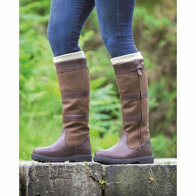 Shires Moretta Nella Suede & Leather Long Boots  Country Footwear 959