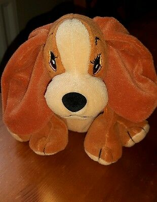 """Walt Disney Soft Toy Dog """"Lady"""" From Lady And The Tramp"""