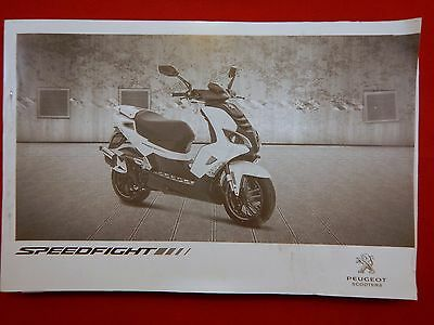 2008 2009 Peugeot Speedfight 50 Owners Manual Handbook
