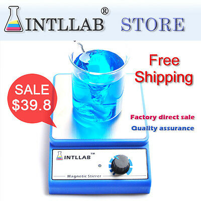 Magnetic Stirrer INTLLAB Laboratory magnetic mixer with 3000r AC100-240_AU PLUG