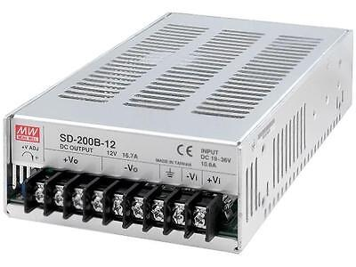 SD-200B-12 Konverter DC/DC 200.4W Uin19÷36V Uout12VDC Iout16.7A MEANWELL