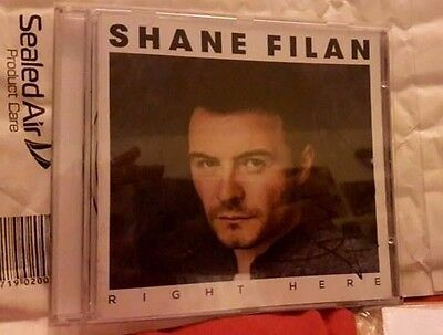 Shane Filan Right Here Signed/Autographed Album