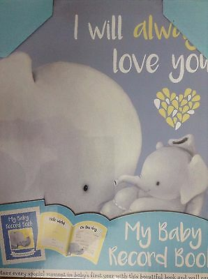Book & Wall Canvas My Baby Record Book by Igloo Books Christering Gift Set