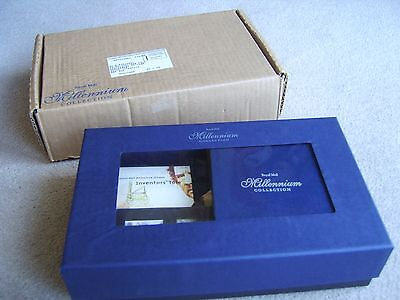 Royal Mail Millennium Collection in Showcase box with all stamps and books etc