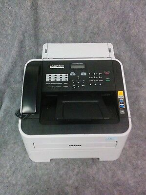 Brother Intellifax 2840 High Speed Monochrome Laser Fax & Copier- 2 Page count!