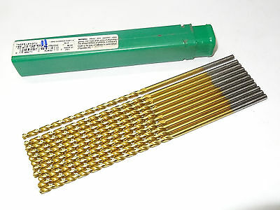11 new PTD Precision Twist #30 QC-91G Taper Length Drills Bit HSS TiN Coat 50930