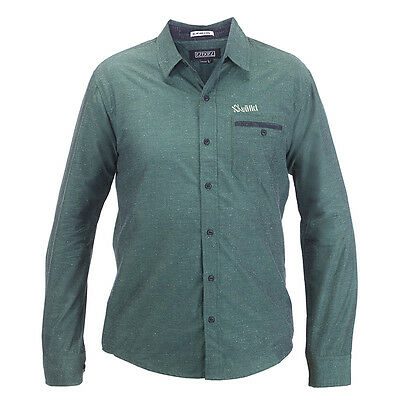 VOLKL Men's Casual Button Down Green SHIRT NEW 187229