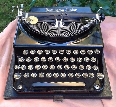 Alte antike Schreibmaschine Remington Junior antique old typewriter