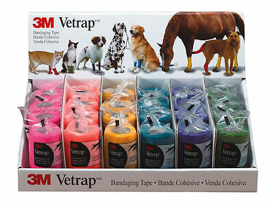 3M Health Care Vetrap 10Cm Display Pack Equine Horse Horse Care & First Aid