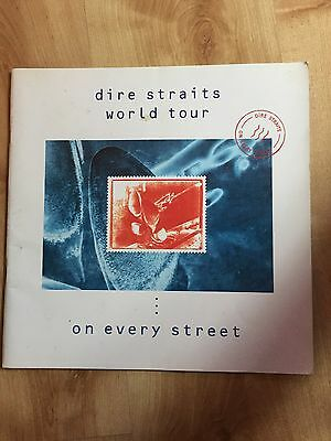 Dire Straits - On Every Street 1992 Tour Programme Programme