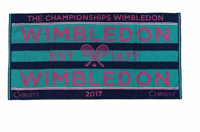 Wimbledon The Championship 2017 Official Ladies Tennis Towel New In Travel Case