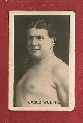 JABEZ WOLFE English Channel Swimmer 22 failed attempts  1922 original photocard