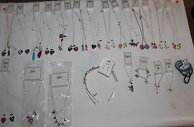 Justice Girls Jewelry 45pcs.  lot mixed   Necklaces, Bracelets, and headbands