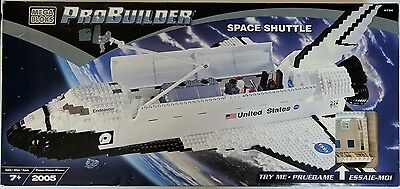 MEGA BLOKS PROBUILDER SPACE SHUTTLE 9736 NEW IN BOX ENDEAVOUR 2005 pieces NIB