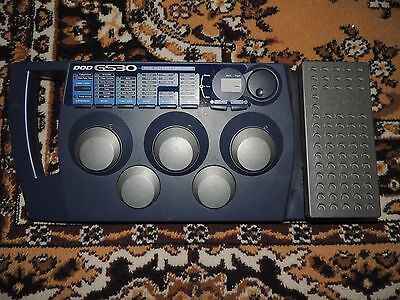 Dod Gs 30 Guitar System Multi Effects Processor Pedal Works Perfectly