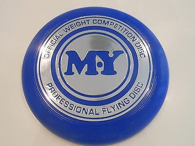 MY Official Weight Competition Disc Frisbee - BLUE