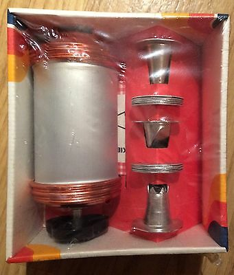 Vintage Mirro Cookie Pastry Press 12 Plates 3 Pastry Tips Complete M-0358-22 New
