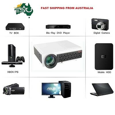 Deluxe Home Theatre HD Digital Projector & Screen 5500 Lumens WiFi Great Gaming